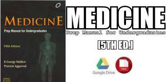 Medicine: Prep Manual for Undergraduates 5th Edition PDF