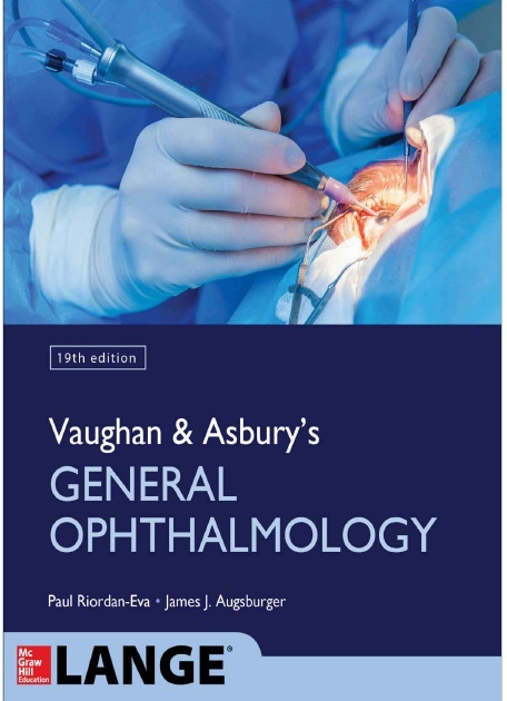 Vaughan & Asbury's General Ophthalmology 19th Edition PDF