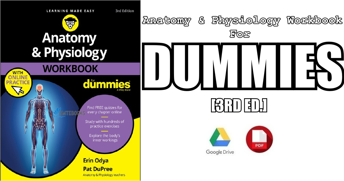 Anatomy & Physiology Workbook For Dummies 3rd Edition PDF