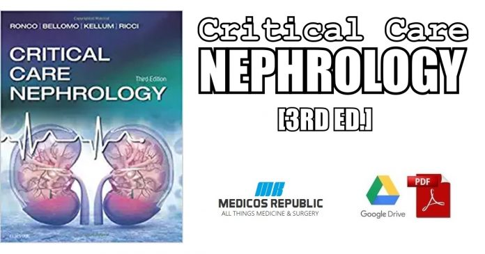 Critical Care Nephrology 3rd Edition PDF