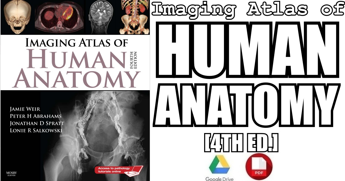 Imaging Atlas Of Human Anatomy 4th Edition Pdf Free Download