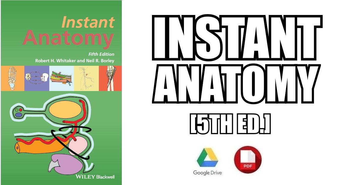 Instant Anatomy 4th Edition Pdf