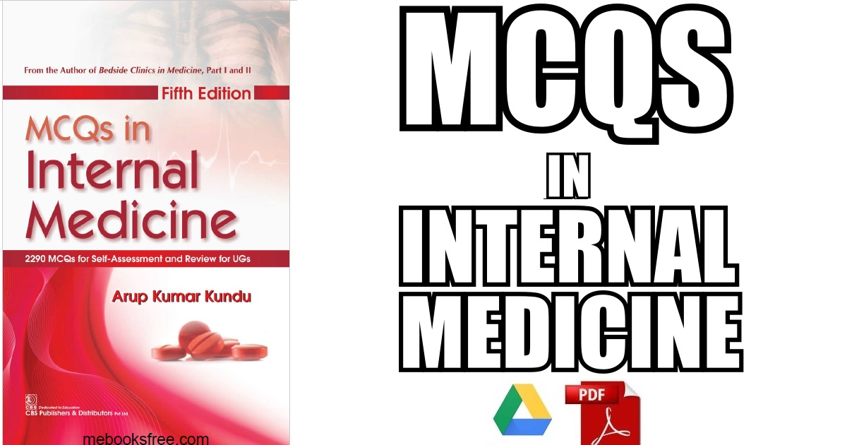 MCQs in Internal Medicine 5th Edition PDF Free Download [Direct Link]