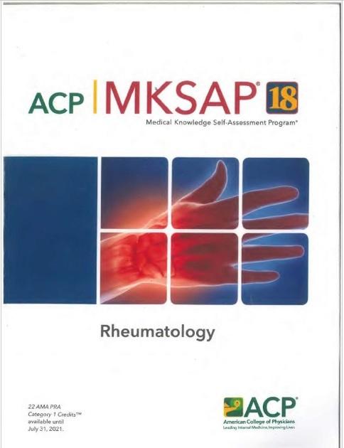 MKSAP 18 Rheumatology PDF