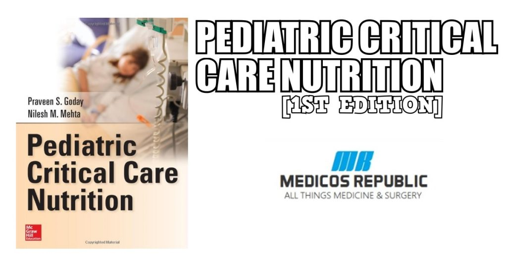 Pediatric Critical Care Nutrition PDF