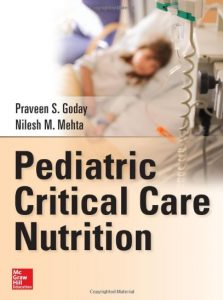 Pediatric Critical Care Nutrition PDF