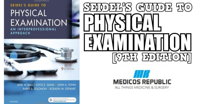 Seidel's Guide to Physical Examination 9th Edition PDF