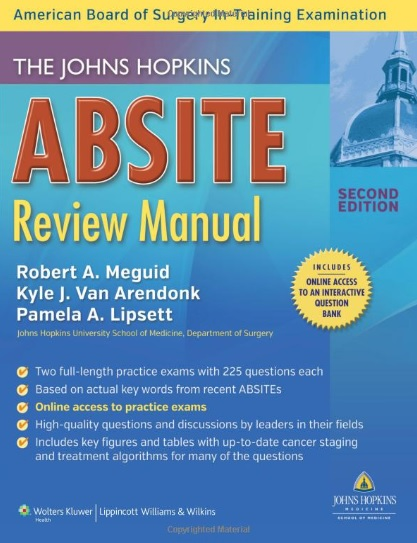The Johns Hopkins ABSITE Review Manual 2nd Edition PDF