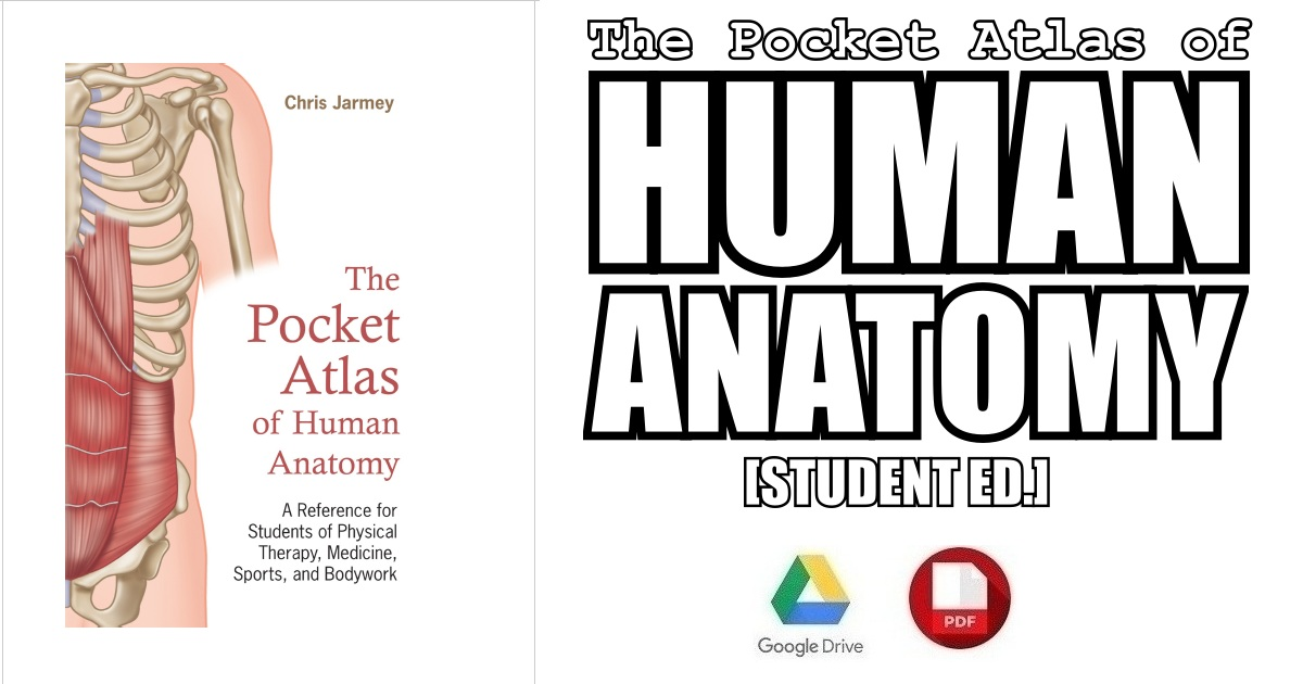 The Pocket Atlas Of Human Anatomy Pdf Free Download Direct Link