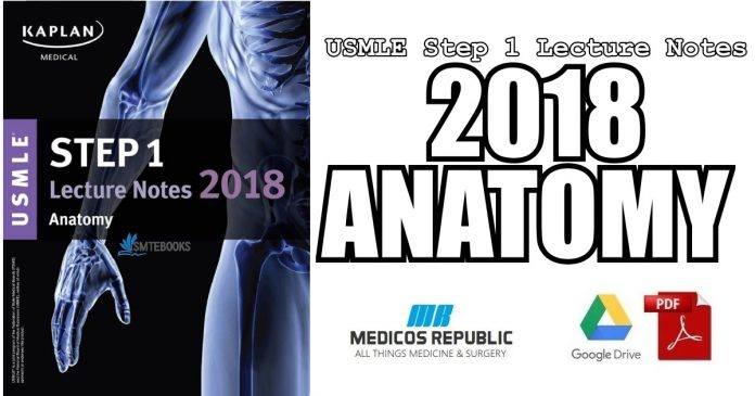 USMLE Step 1 Lecture Notes 2018: Anatomy PDF