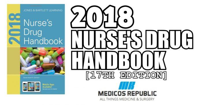 2018 Nurse's Drug Handbook PDF