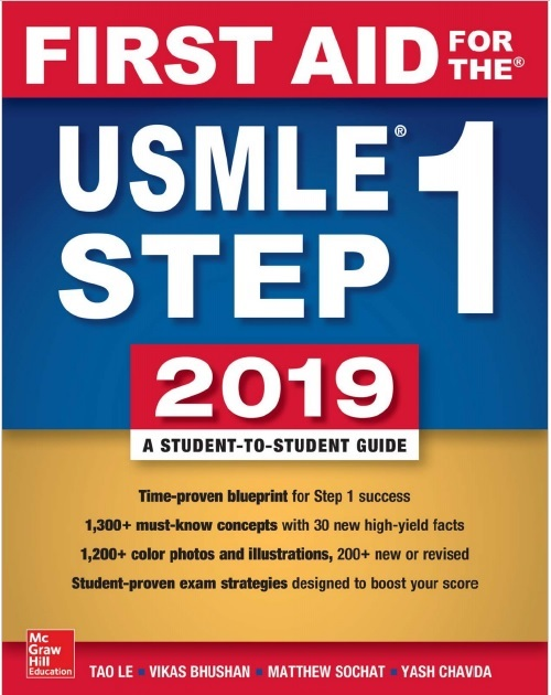 First Aid for the USMLE Step 1 2019 29th Edition PDF