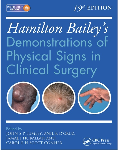 Hamilton Bailey's: Demonstrations of Physical Signs in Clinical Surgery 19th Edition PDF