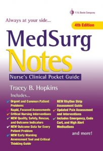 MedSurg Notes: Nurse's Clinical Pocket Guide PDF