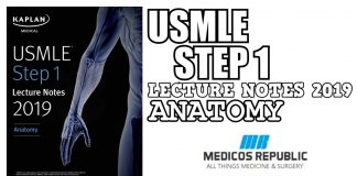 USMLE Step 1 Lecture Notes 2019: Anatomy PDF