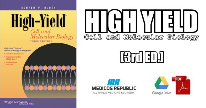 High-Yield™ Cell and Molecular Biology 3rd Edition PDF