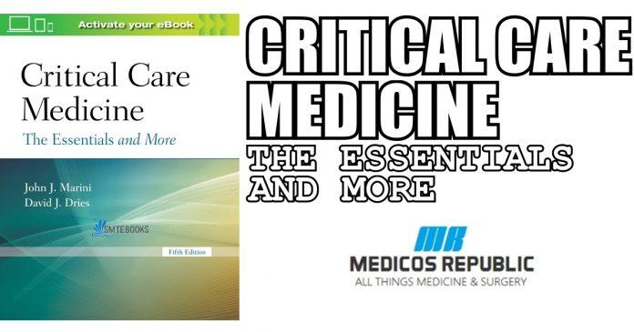 Critical Care Medicine PDF