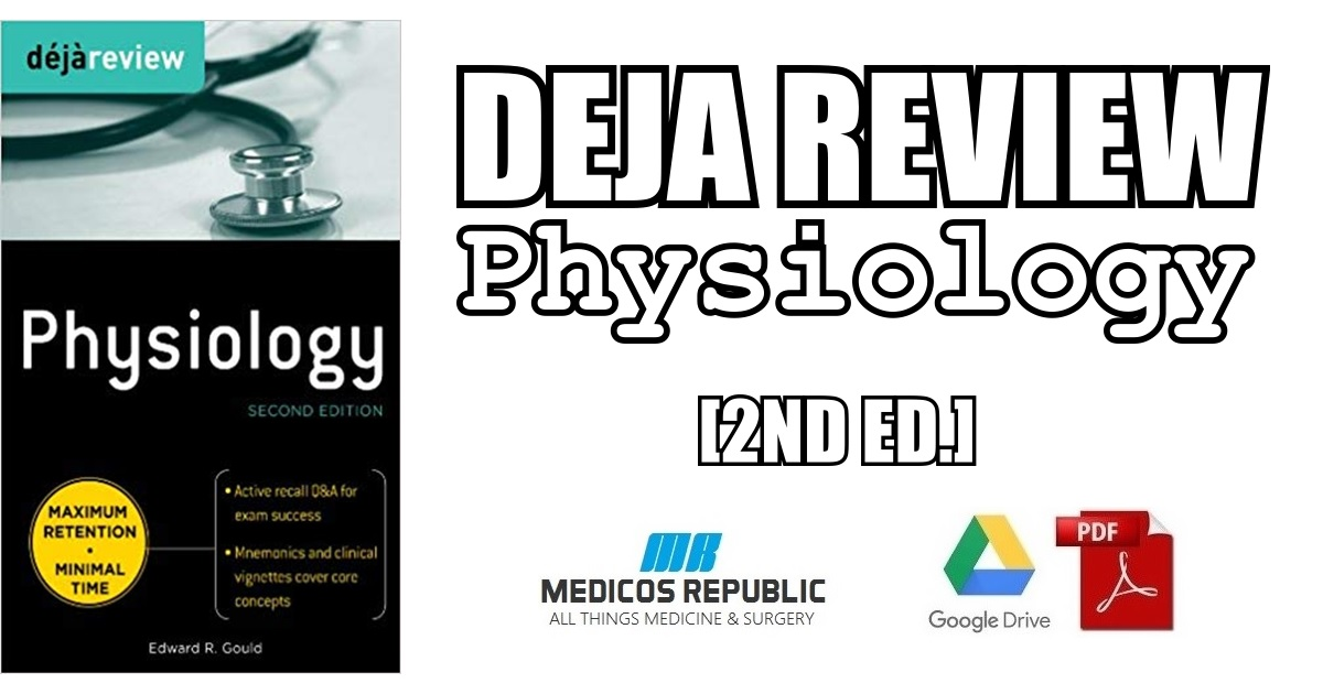 Deja Review Physiology 2nd Edition PDF Free Download [Direct