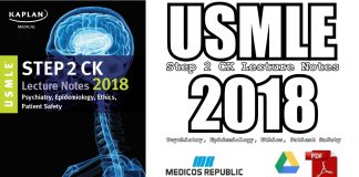 USMLE Step 2 CK Lecture Notes 2018 PDF