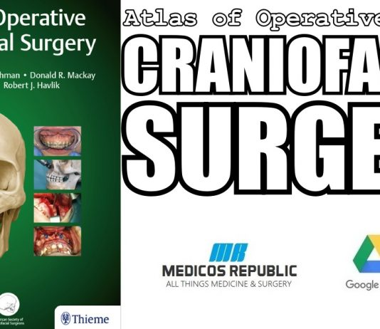 Atlas of Operative Craniofacial Surgery 1st Edition PDF