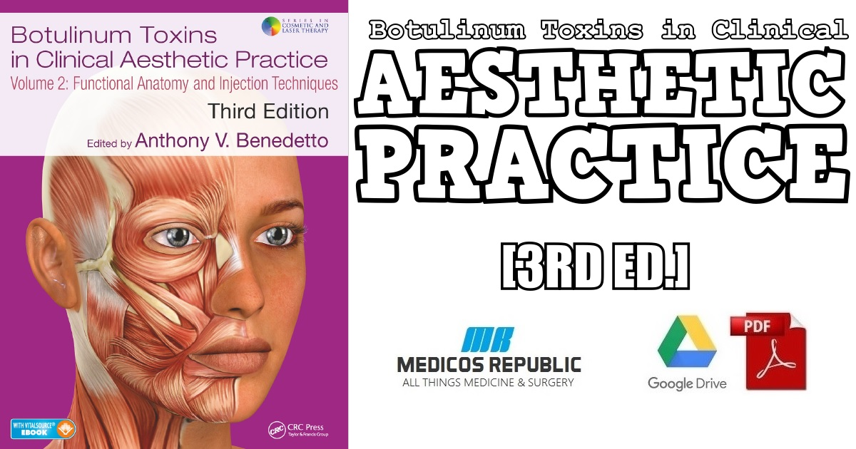 Botulinum Toxins in Clinical Aesthetic Practice 3rd Edition PDF