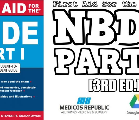 First Aid for the NBDE Part 1 3rd Edition PDF
