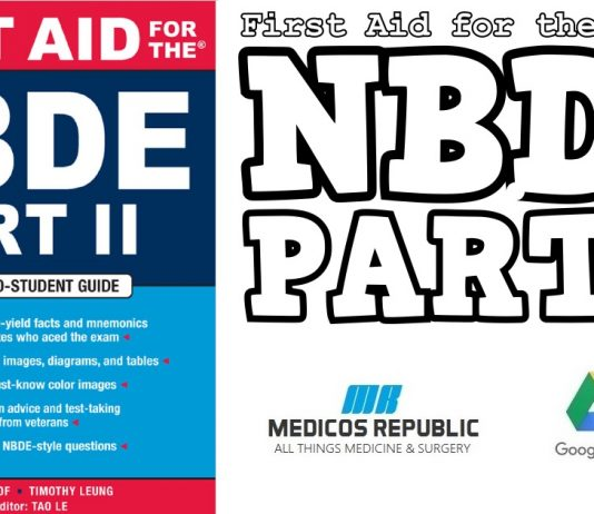 First Aid for the NBDE Part II PDF