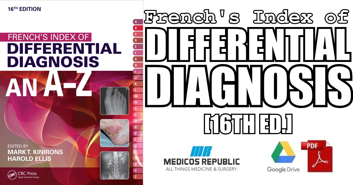 French's Index of Differential Diagnosis An A-Z 16th Edition PDF