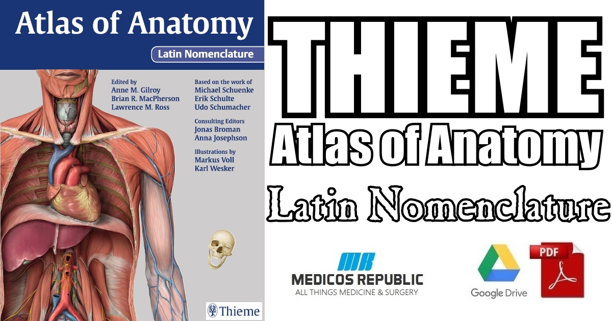 Thieme Atlas of Anatomy Latin Nomenclature PDF Free Download