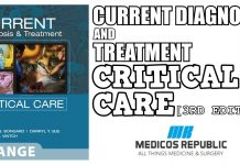 CURRENT Diagnosis and Treatment Critical Care 3rd Edition PDF