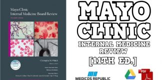 Mayo Clinic Internal Medicine Board Review 11th Edition PDF