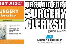 First Aid for the Surgery Clerkship 3rd Edition PDF