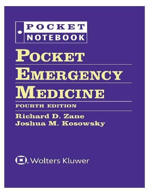Pocket Emergency Medicine 4th Edition PDF