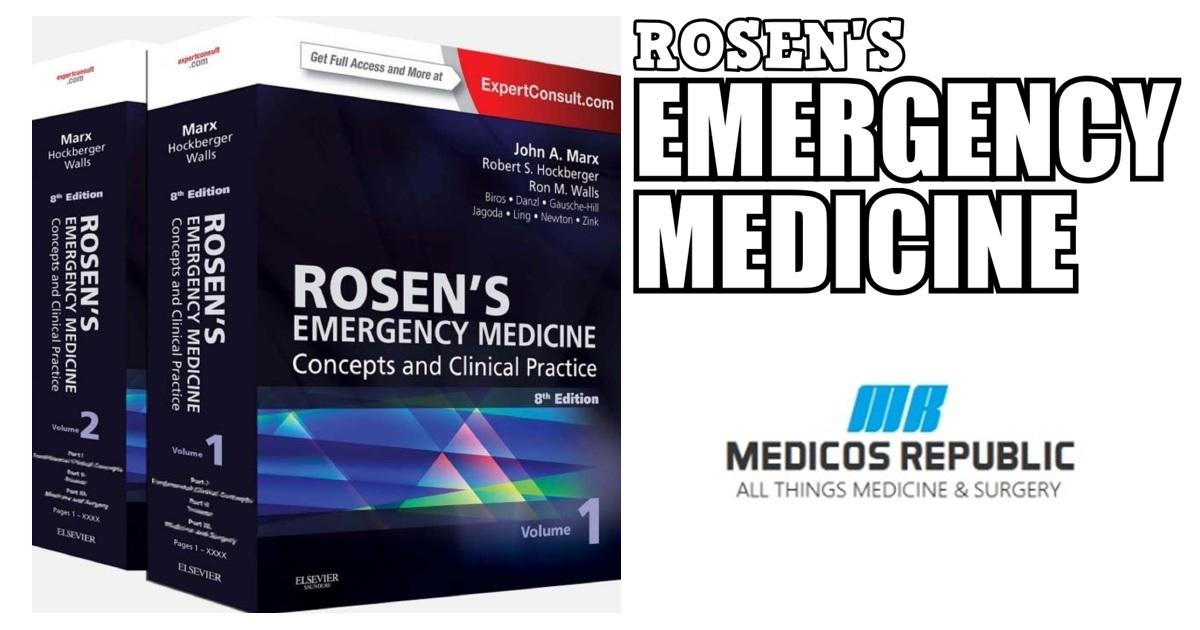 Rosen's Emergency Medicine 8th Edition PDF Free Download