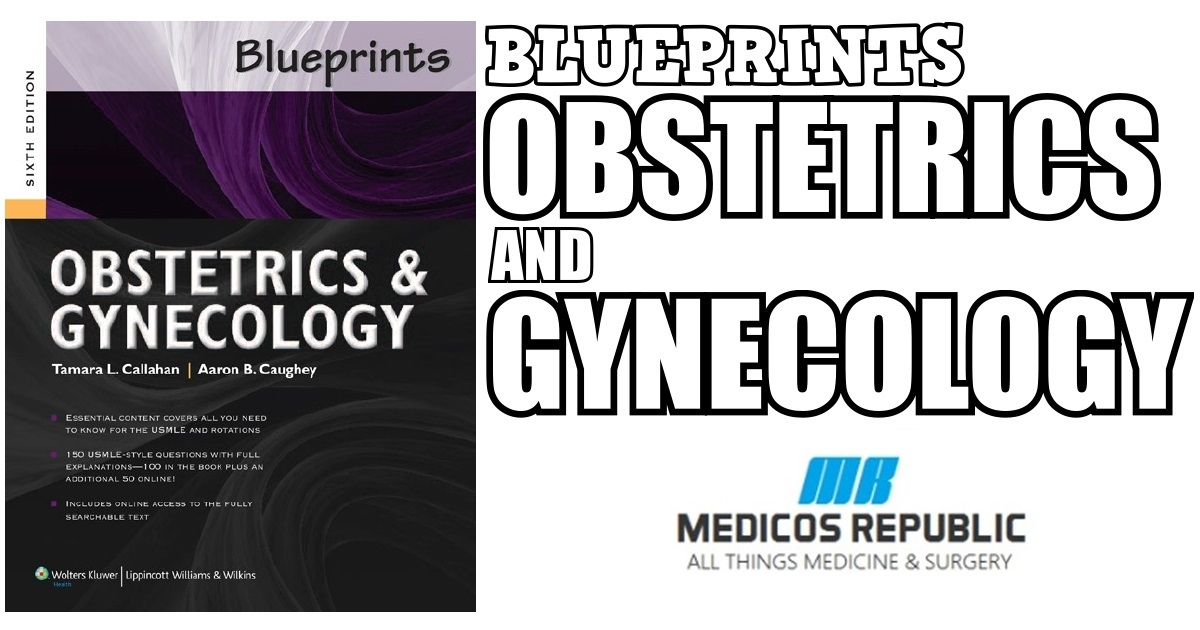 Blueprints Obstetrics and Gynecology 6th Edition PDF Free