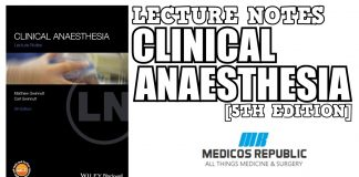 Lecture Notes: Clinical Anaesthesia 5th Edition PDF