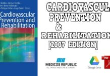 Cardiovascular Prevention and Rehabilitation 2007 Edition PDF