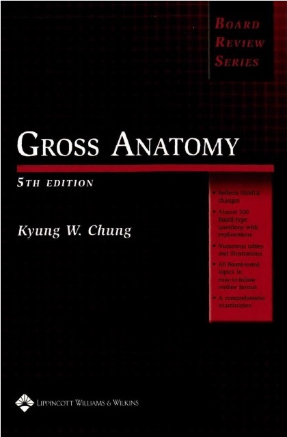 Gross Anatomy (Board Review Series) 5th Edition PDF