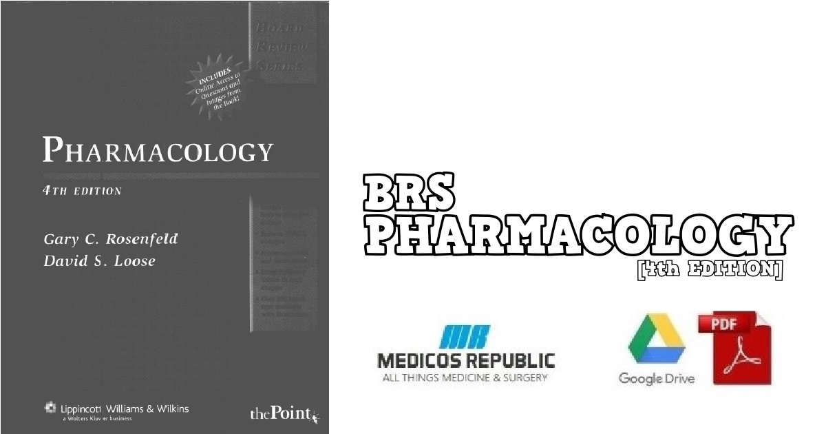 Pharmacology 4th Edition PDF