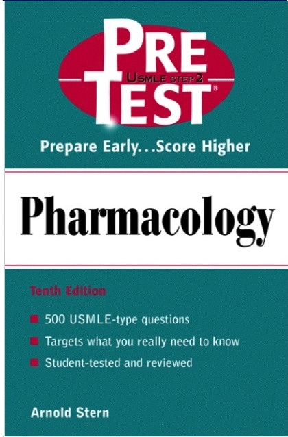USMLE Step 2 Pre-Test Pharmacology 10th Edition PDF